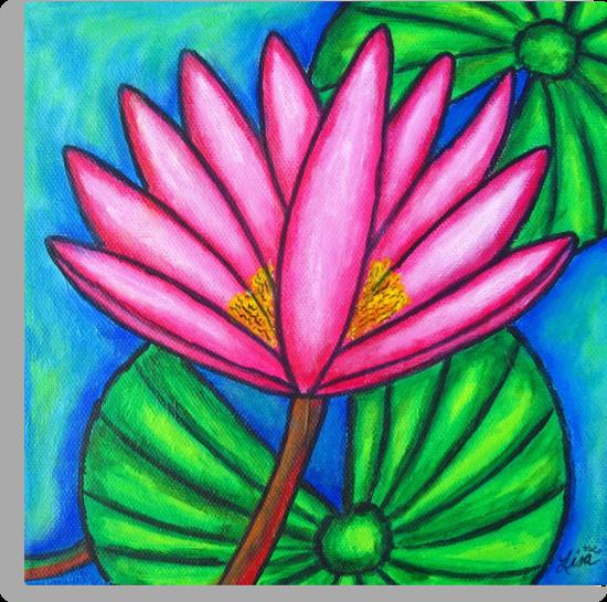 Pink Gem 3 by LisaLorenz
