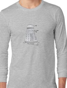 Doctor Who - Exterminate. Long Sleeve T-Shirt