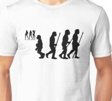 evolution of youth Unisex T-Shirt