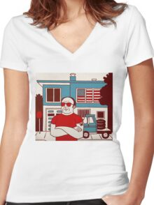 Patriot Women's Fitted V-Neck T-Shirt