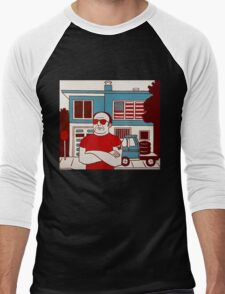 Patriot Men's Baseball ¾ T-Shirt