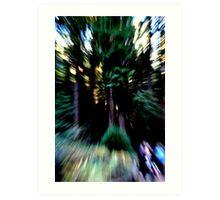 speed of light. Art Print