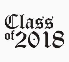 Class of 2018 Baby Tee