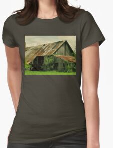 """""""The Cody Community Center and Grand Ballroom""""... prints and products Womens Fitted T-Shirt"""