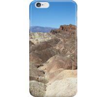 Zabriskie Point, Death Valley, USA iPhone Case/Skin