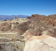 Zabriskie Point, Death Valley, USA by Jonathan Maddock