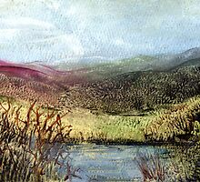 Moorland View 2 by Carol Rowland