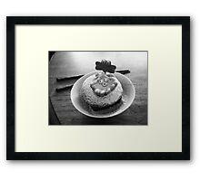 Octopus Dessert. Framed Print