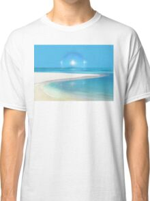 Postcard from Crane Bay in Barbados, Caribbean Classic T-Shirt