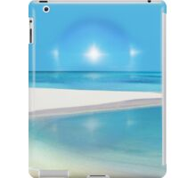 Postcard from Crane Bay in Barbados, Caribbean iPad Case/Skin