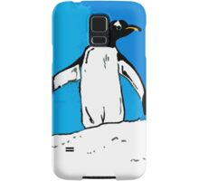 Penguin with blue sky Samsung Galaxy Case/Skin