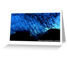 #410  Beneath A Wave Greeting Card