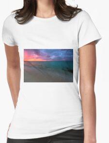 Cuba Beach 2 Womens Fitted T-Shirt