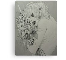 Flower Hog Canvas Print