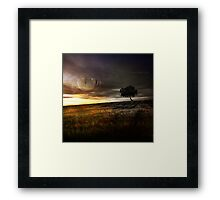 Intuition. Framed Print