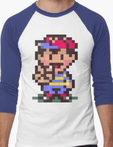 Ness - Earthbound Men's Baseball ¾ T-Shirt