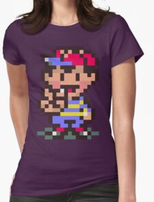 Ness - Earthbound Womens Fitted T-Shirt