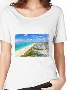 Postcard from South Beach, Miami, Florida Women's Relaxed Fit T-Shirt