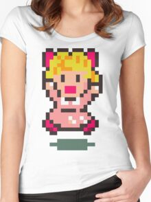 Paula - Earthbound Women's Fitted Scoop T-Shirt