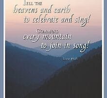 Joyful Mountains Religious by SandraRose