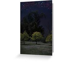 Moon Shadows Greeting Card