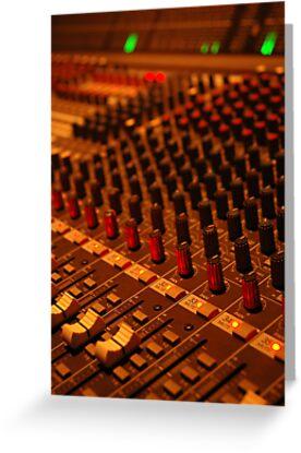 detail of sound mixer by bayu harsa