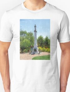 Confederate Monument in Franklin, NC Unisex T-Shirt