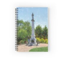 Confederate Monument in Franklin, NC Spiral Notebook