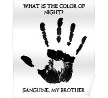 Sanguine My Brother Poster