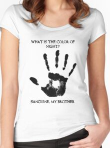 Sanguine My Brother Women's Fitted Scoop T-Shirt