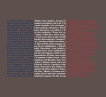 French flag La Marseillaise by atomicseasoning