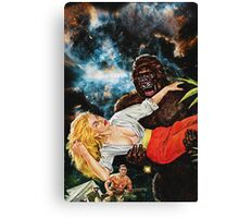 Get your hands off my Bananas Canvas Print