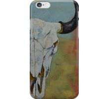 Bison Skull iPhone Case/Skin
