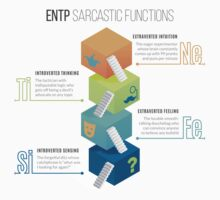 ENTP Sarcastic Functions One Piece - Short Sleeve
