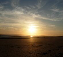 Camber Sands, East Sussex by Poggs