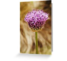 Blooming Alone Greeting Card
