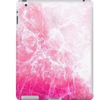 Pink Abstract Cracked Ice iPad Case/Skin