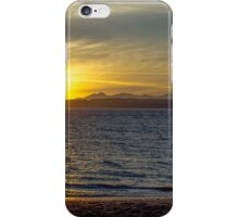 Seattle Sunset Over Bay iPhone Case/Skin