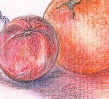 Juicy Fruits Sticker