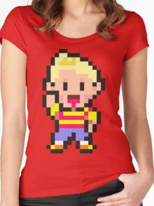 Lucas - Mother 3 Women's Fitted Scoop T-Shirt