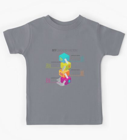 INTP Sarcastic Functions Kids Tee
