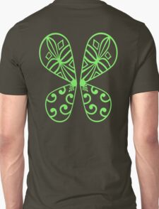 Fairy Wings - Green Unisex T-Shirt