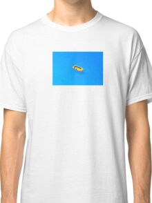 Yellow boat in Saint Tropez Bay, Southern France Classic T-Shirt