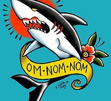 Om Nom Nom by sailormary