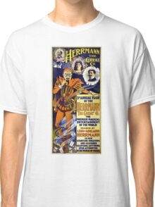 Herrmann the Great 1898 Vintage Poster Restored Classic T-Shirt