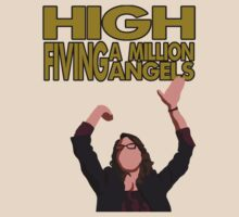 Liz Lemon - High fiving a million angels by MichielvB