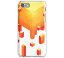 yellow cube case iPhone Case/Skin