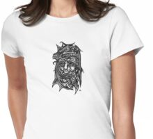 Tattooed Brave Womens Fitted T-Shirt
