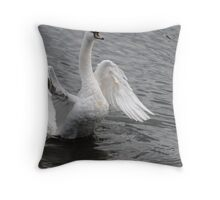 Beauty and Power Throw Pillow