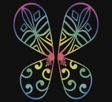 Fairy Wings - Rainbow by sjdesigns